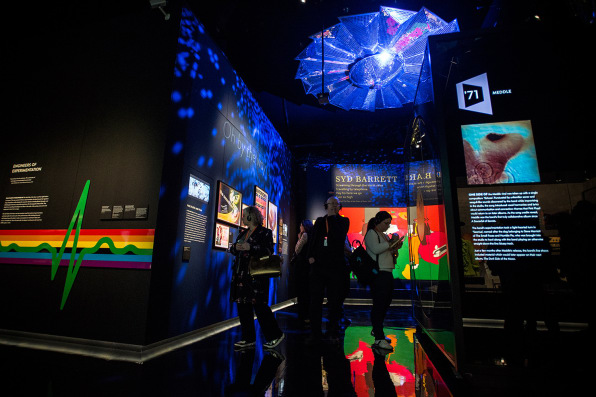 A new pink floyd exhibit celebrates 50 years of music at for Pink floyd exhibition