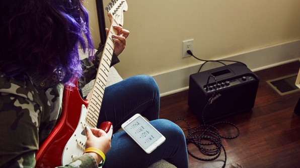 how fender is reinventing online guitar lessons for the fast company. Black Bedroom Furniture Sets. Home Design Ideas