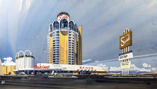 Sands Hotel Las Vegas, NV [Photo: courtesy MIT Press]