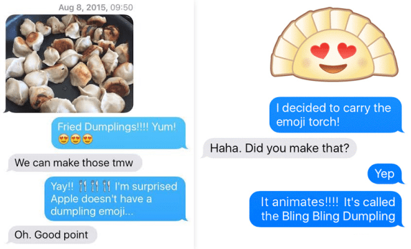 The Dumpling Emoji @ Yiying Lu | Design, Creativity & Innovation