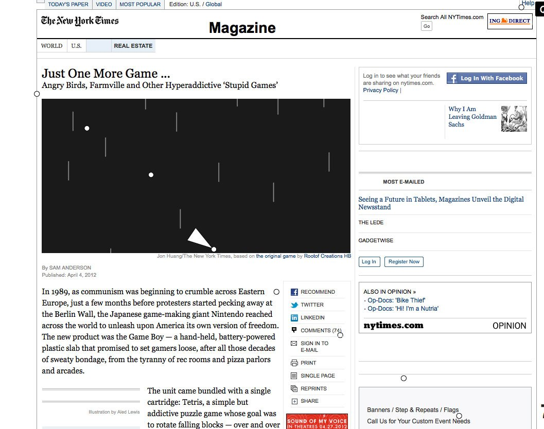 The New York Times' Illustrious History Of Messing With Its Site