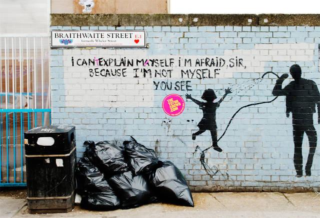 Graffiti Vigilantes Have No Problem With Paint, Just Poor Grammar