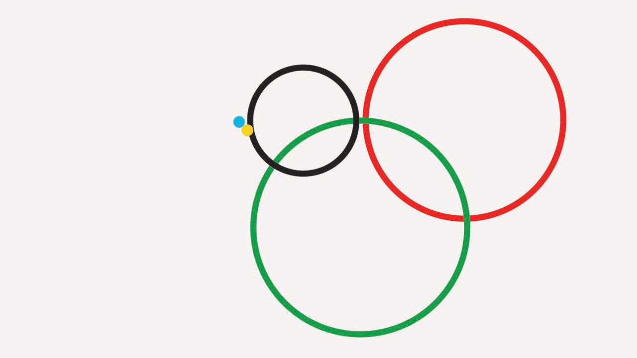 Infographics: Using The Olympic Rings To Show Vast Inequalities