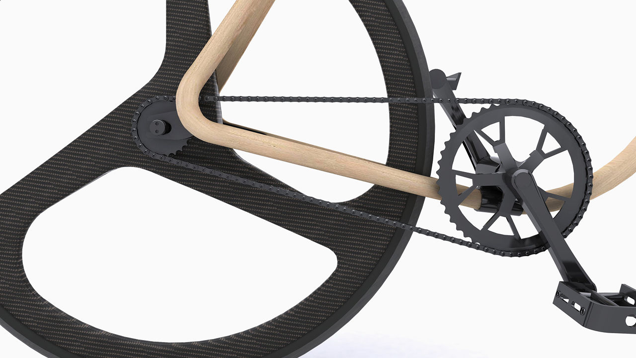 A $70,000 Wooden Bike, Crafted Like A Century-Old Chair