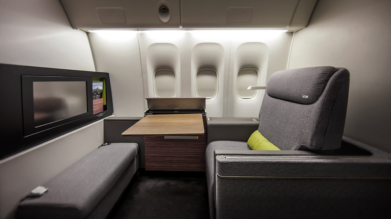 This Might Be The Comfiest First-Class Cabin Ever