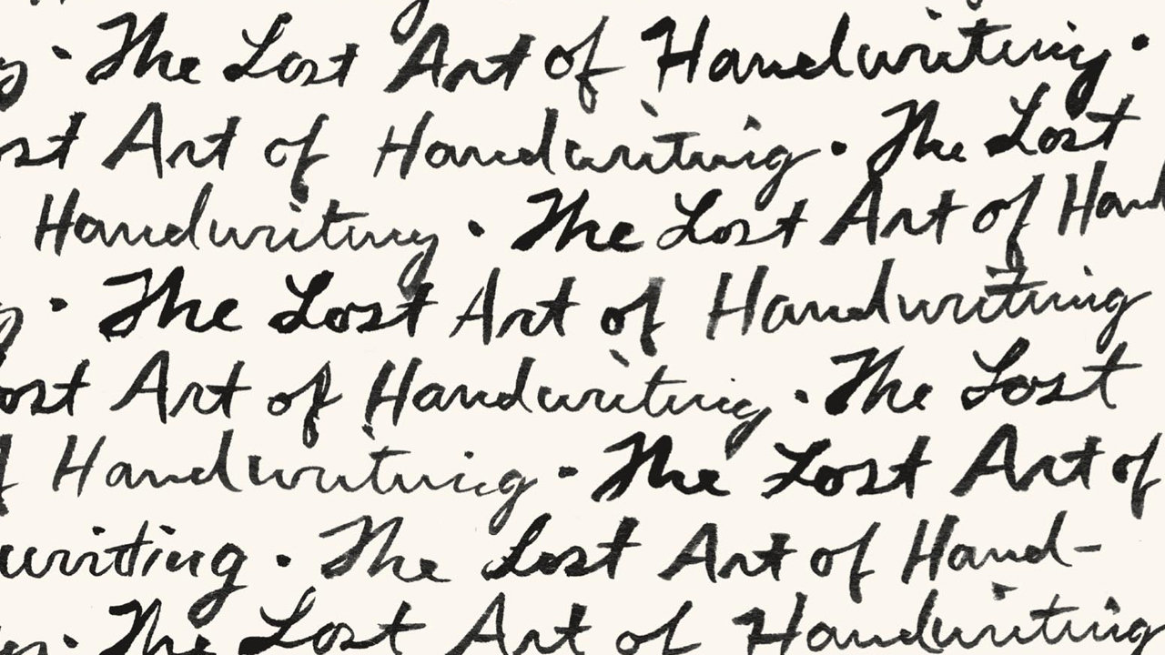 10 Ways To Rescue Handwriting From The Grave