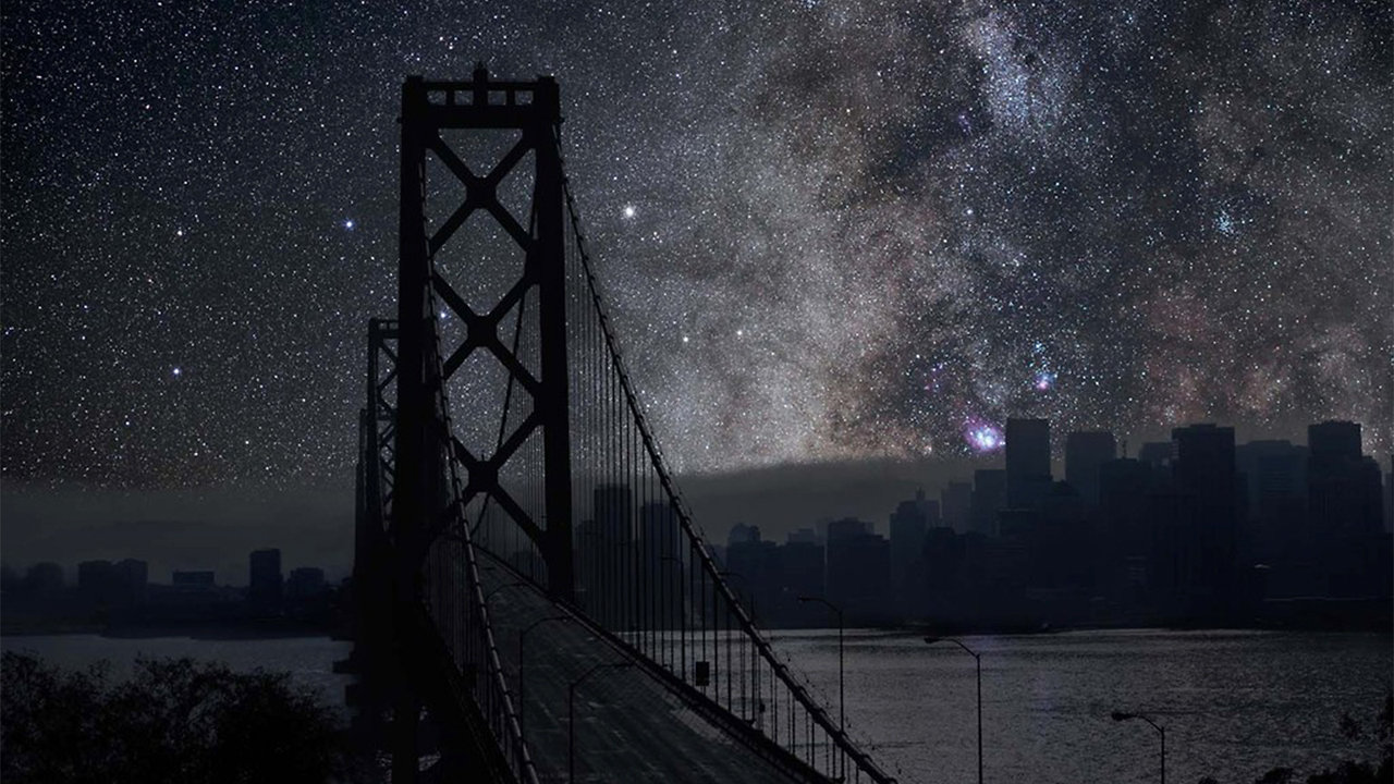 Lights Out: What SF, NYC, And Tokyo Would Look Like Under Montana's Stars
