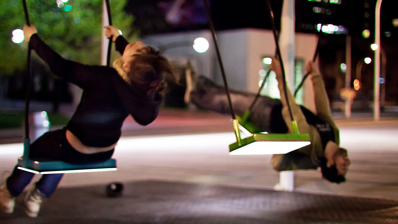 Watch: A Musical Swingset Forms A 21-Piece Orchestra
