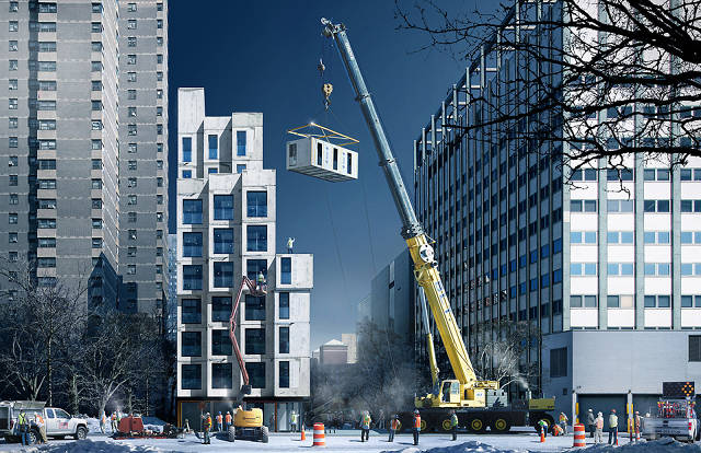 Micro Apartments Give A Hint Of City Living's Future