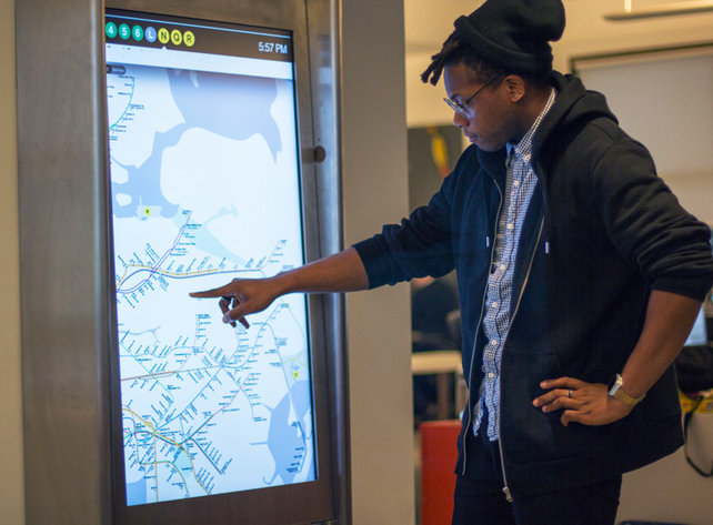 NYC Subways Deploy A Touch-Screen Network, Complete With Apps