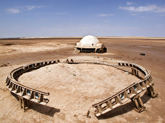 A Photographer Rediscovers The Crumbling Remains Of Tatooine