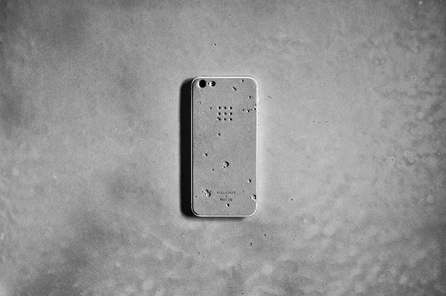 This Rad Concrete Skin Turns Your iPhone Into Moon Rock