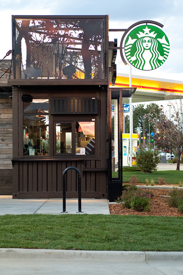 An Experimental New Starbucks Store Tiny Portable And Hyper Local