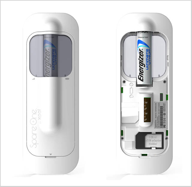 Spareone a 50 cell phone that runs on one aa battery malvernweather Images