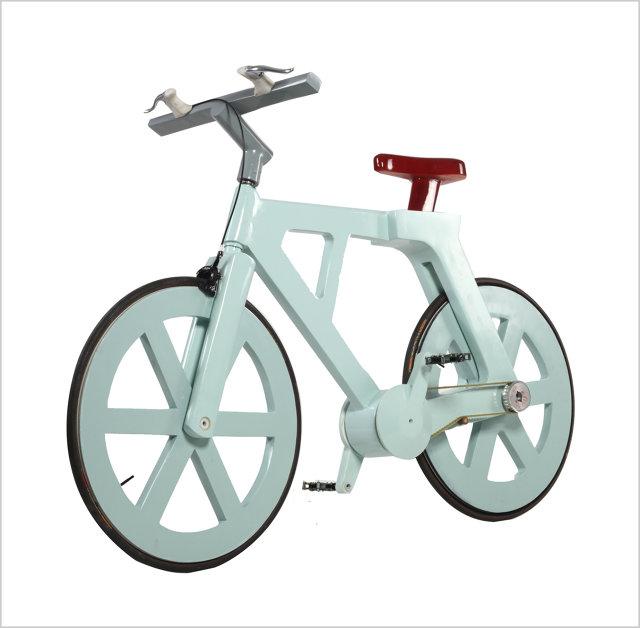 Bicicleta de PAPELÃO Inline-ICB