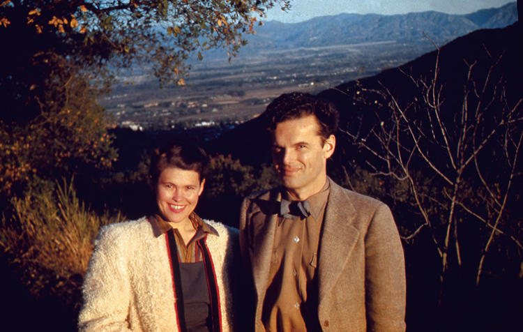 <p>Charles and Ray Eames.</p>