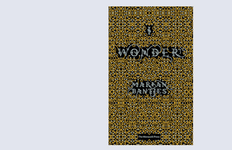 <p>The first book from graphic artist Marian Bantjes does more than simply showcase her decadent, ornamental work, it tells a story as well: I Wonder (The Monacelli Press, $40) features Bantjes' witty writing to accompany her fantastic visual gymnastics -- rendered in mediums ranging from rose petals to macaroni.</p>