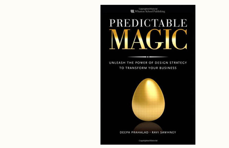 <p>Those looking for a formula for injecting design thinking into any business should look no further than Predictable Magic (Pearson Prentice Hall, $30), written by business strategist Deepa Prahalad and Co.Design's own expert design blogger, Ravi Sawhney. At the heart of their philosophy is the theory that design isn't as much about looks or function, but how it makes its users feel.</p>