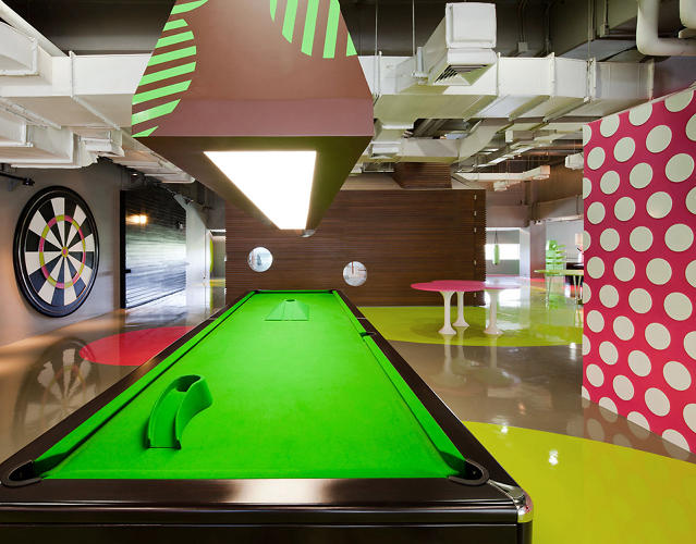 <p>A &quot;super pool table&quot; is a longer, crazier version of the old standard. Beware the obstacles.</p>