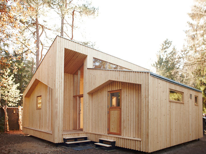 <p>The parts of this holiday home outside Copenhagen came straight from a rapid-prototyping machine.</p>