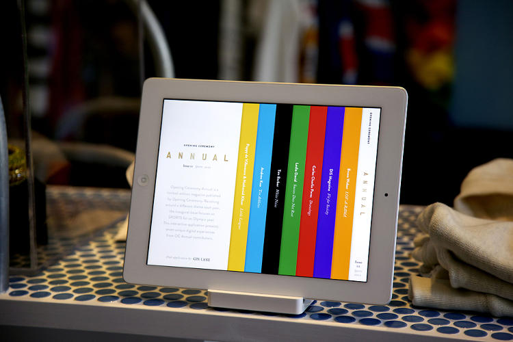 <p>As they were planning the first issue of the Opening Ceremony magazine, the editors had a radical notion: bring the digital designers to the table from the start.</p>