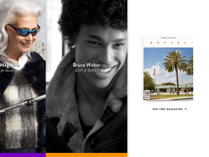 <p>Included are pieces by fashion world mainstays, like Bruce Weber, alongside lesser known artists.</p>