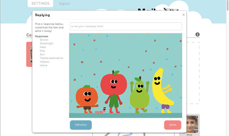 <p>Maily is a free iPad email app for youngsters.</p>