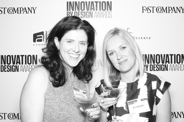 <p>Margaret Stewart, director of product design at Facebook, and Kate Aronowitz, the company's director of design.</p>