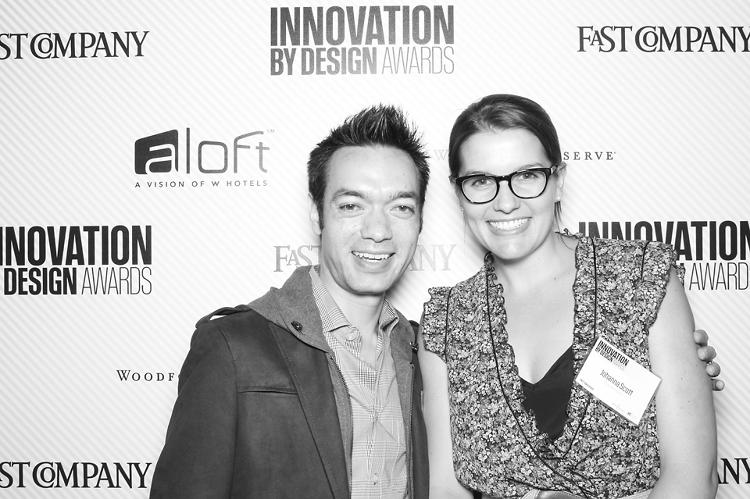 <p>Anthony Schrauth, chief product officer at Betterment, and the company's community manager, Johanna Scott.</p>