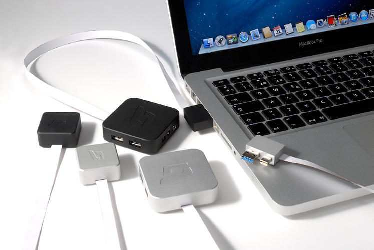 <p>MacDock is an elegant way to extend the ports of your Macbook.</p>