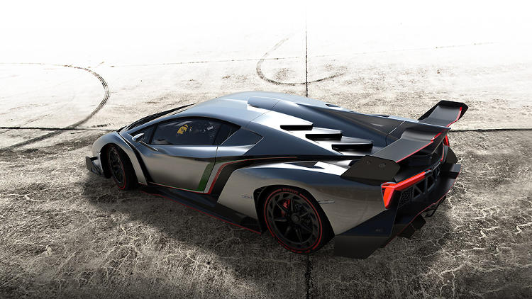 <p>It's made entirely of carbon fiber, has 750 HP, and hits 220 MPH.</p>