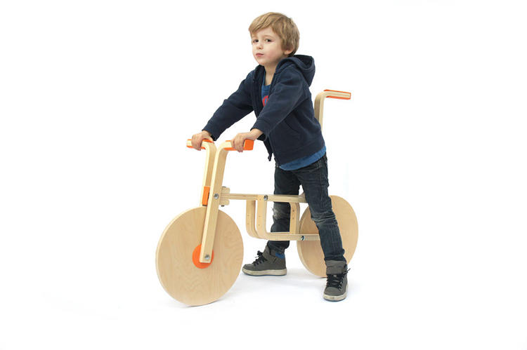 <p>This cute kids bike shows what's possible when you don't follow Ikea's instructions.</p>
