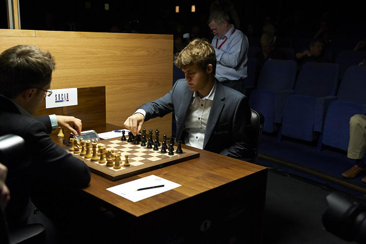 <p>Magnus Carlsson, the winner of the recent World Chess Candidates Tournament.</p>