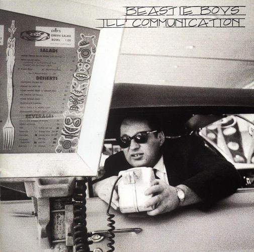 <p>Here, the cover for <em>Ill Communication</em>, from 1994.</p>