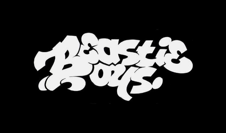 <p>This month, the contemporary art mag <em>Juxtapoz</em> is dedicating an entire issue to the art of the Beastie Boys. Here, the trio's original logo, designed by Bronx graffiti artist Cey Adams.</p>