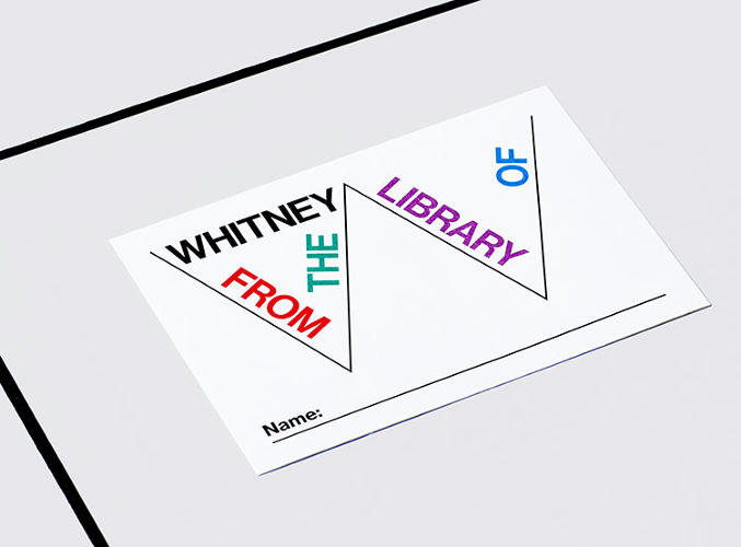 <p>New York's Whitney Museum of American Art has commissioned a new graphic identity from design house Experimental Jetset. The new look ditches the former logo, and uses instead the &quot;Responsive W.&quot;</p>