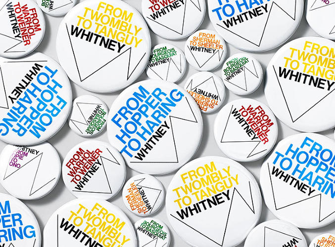 <p>The new identity is part of a larger branding, synced with the museum's upcoming move in 2015, from the Whitney's longtime home on New York's upper east side, to a Renzo Piano-designed building at the south end of the High Line.</p>
