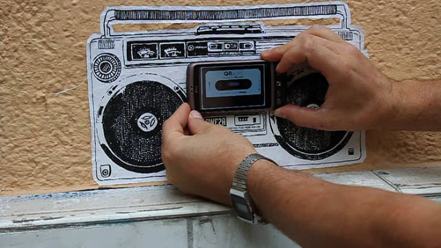What Does Street Art Sound Like?