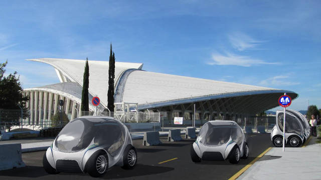 Car Sharing With Crazy Folding Cars Is Coming To Europe