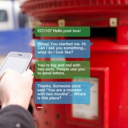 This Entire City Of Inanimate Objects Can Now Talk To You Via Text