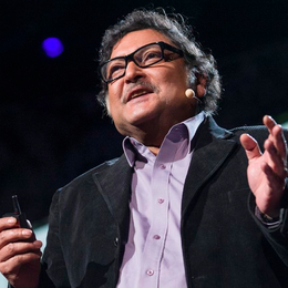 2013 TED Prize winner Sugata Mitra