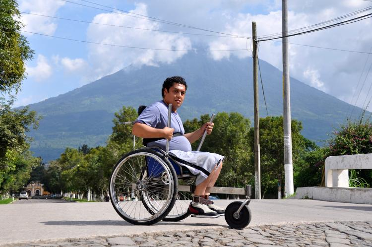 <p>Created by a team from MIT, the GRIT Leveraged Freedom Chair is a lever-powered wheelchair designed for the rough terrain often found in the developing world. The device can be made out of bicycle parts, which means that it can be manufactured and repaired cheaply anywhere in the world.</p>