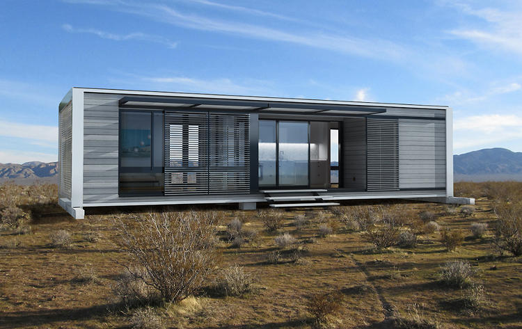 These Gorgeous Sustainable Pre Fab Houses Fit In A