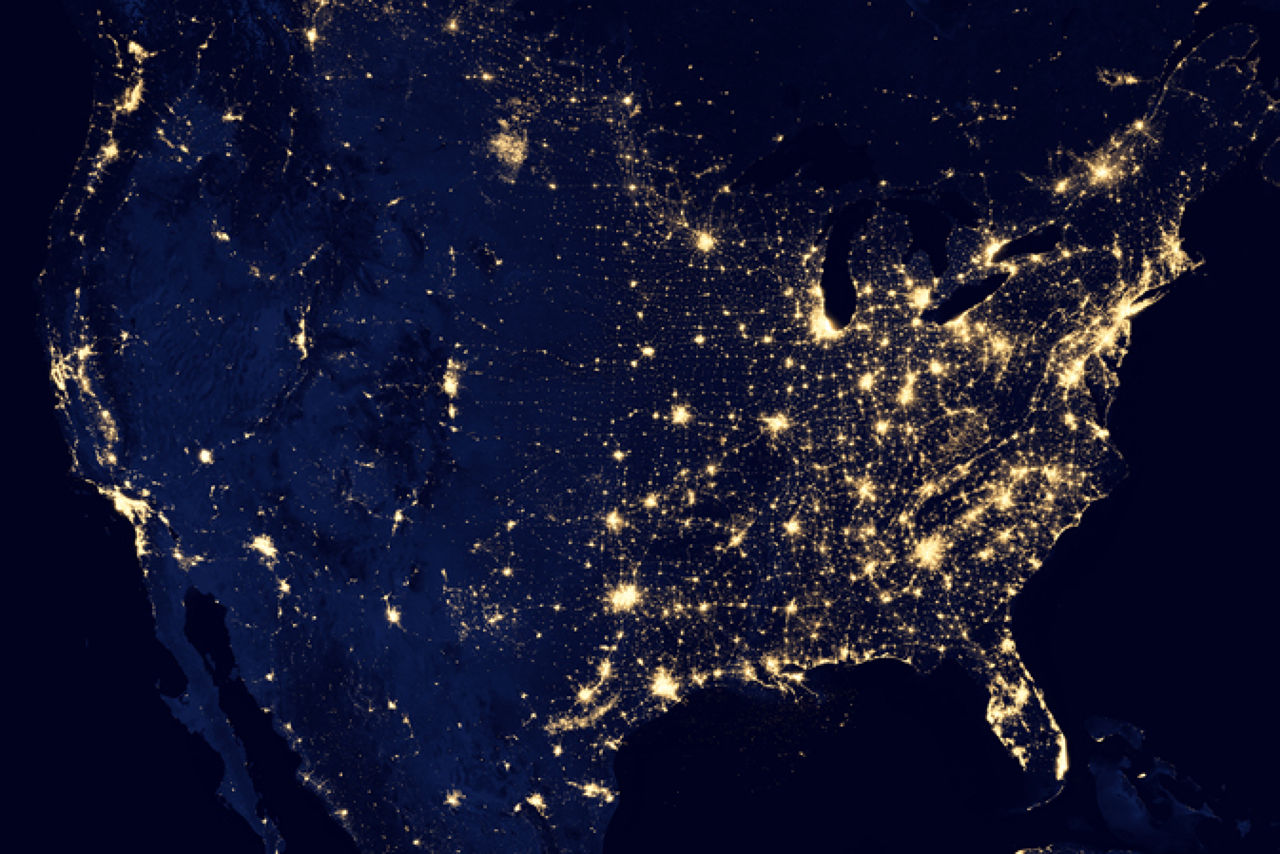 New Satellite Images From NASA Show Ghostly Earth By Night