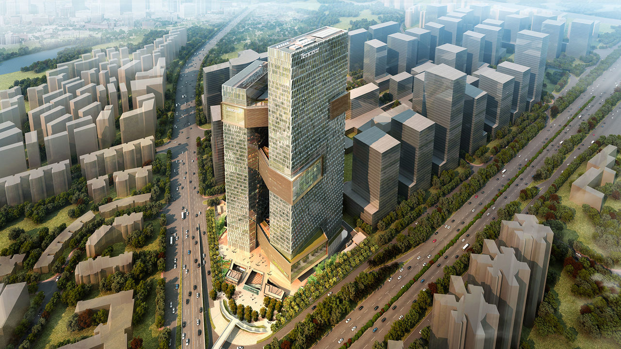The AOL Of China To Build A Suburban Tech Campus In The Sky