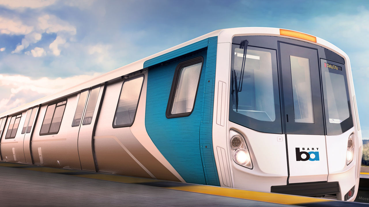 Check Out Photos Of BART's New Fleet Of The Future