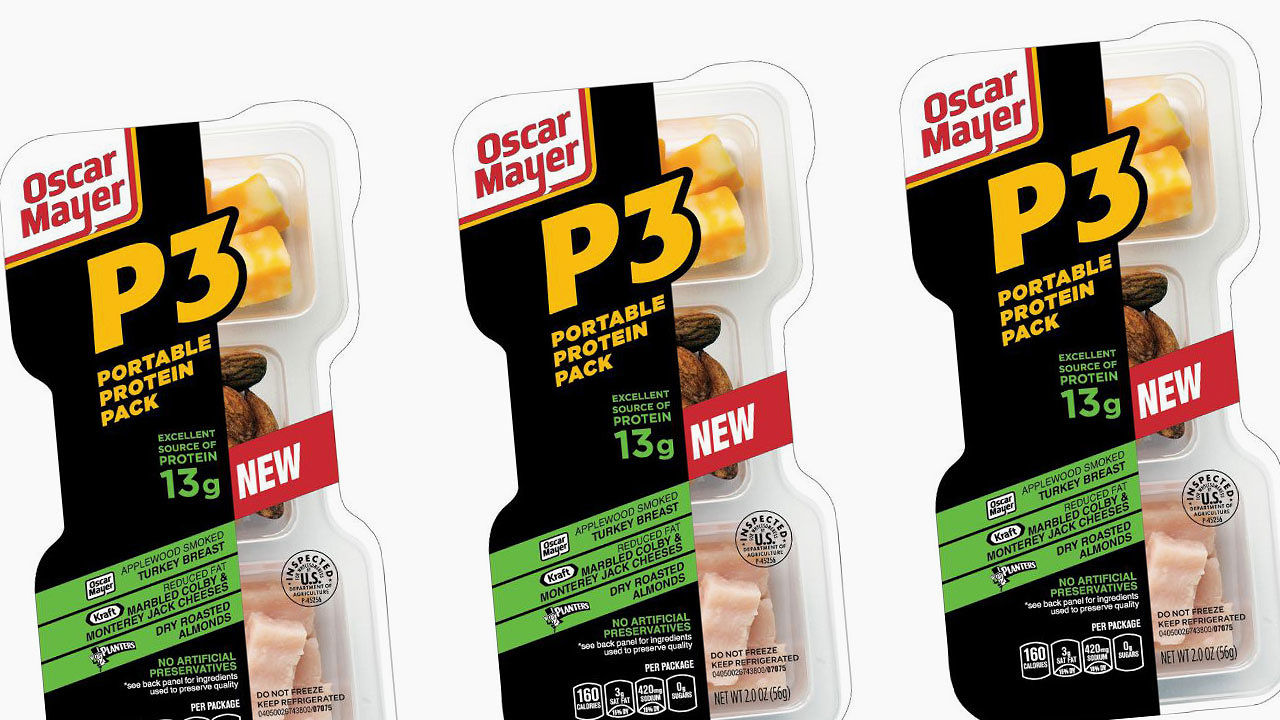 Oscar Mayer Rebrands Lunchables For Adults on oscar mayer p3 protein