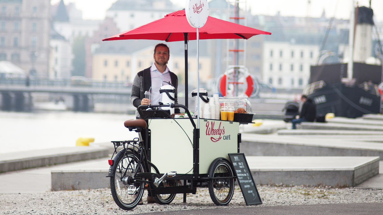 The Bike-Powered Coffee Cart That Could Take On Starbucks