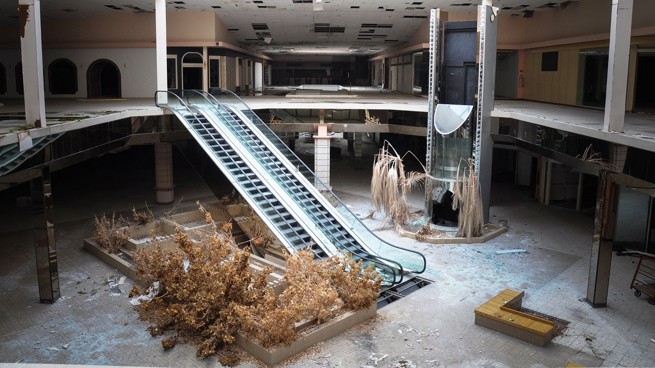 Eerie Photos Of Abandoned Shopping Malls Show The Changing Face Of Suburbia
