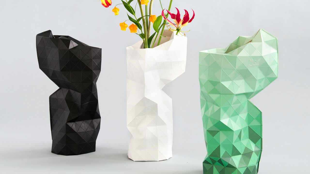 Reinventing Fair Trade, Starting With A High-Design Paper Vase